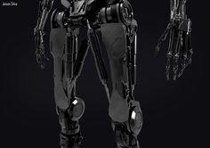 ArtStation - Terminator T-800, jeison silva