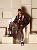 Rihanna's Latest Puma Shoe Design Is... A Furry Sandal #refinery29