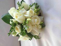 Bridal Bouquet White rose & Freesia