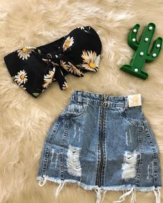 Pin by ariana alfaro on school clothes in 2019 Tumblr Outfits, Swag Outfits, Skirt Outfits, Fall Outfits, Teen Fashion Outfits, Teenage Outfits, Outfits For Teens, Cute Summer Outfits, Cute Casual Outfits