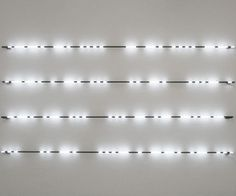 "girlinbk: "" Jonathan Sullam What Happens in Vegas, 2013 "" Neon Lighting, Lighting Design, Loft Interior Design, Hotel Concept, Loft Interiors, Home Sport, Contemporary Sculpture, Signage Design, Conceptual Art"