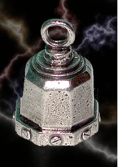 BIKER BETTY Guardian/® Bell Motorcycle Harley Accessory HD Gremlin NEW Riding Bell Key Ring
