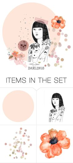 """♡ DARLINGS ♡ ; a fashion contest group by me"" by hurricaned ❤ liked on Polyvore featuring art"