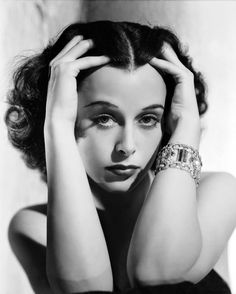 Hedy Lamarr photographed by George Hurrell, 1940