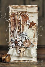 karteczka dla NOOR!Design U.K (wszystkie zestawienie produktóe TUTAJ ) Papiery PION DESIGN z kolekcji: Christmas Wishes