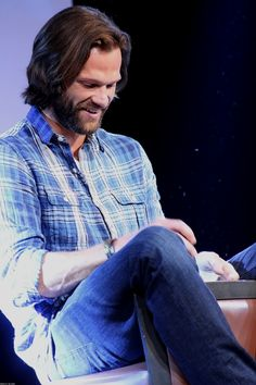 Jared Padalecki (3), Saturday morning J2 panel. JIB7, 2016. photography by nell/mostly10