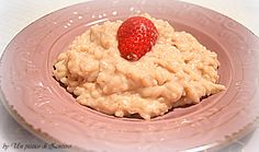 Strawberries risotto - risotto alle fragole