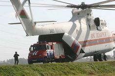 Big Mi-26 Helicopter