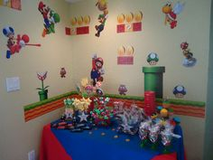MARIO BROS Birthday Party Ideas | Photo 9 of 45 | Catch My Party