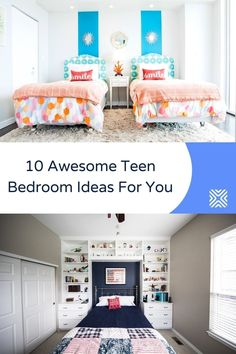Designing a bedroom for a teen can be tough. But that doesn't make it an impossible task. Design a beautiful bedroom for your kids by following our 10 teen bedroom ideas that are equal parts unique and classy.