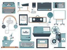 The progression of school technology