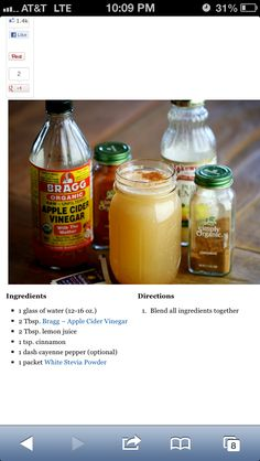 Build you immune system. I would def do this minus the stevia and add minced ginger.-