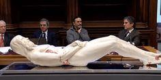 "This ""carbon copy"" of Jesus was created using the Shroud of Turin - Catholic Letters Saint Suaire, Turin Shroud, Oracion A San Antonio, 3d Reconstruction, Carbon Copy, Religion, Christian World, Christian Art, Jesus Face"