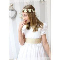 Vestidos de Comunión - Golositos Ropa Infantil Communion Dresses, Fashion, Style, Clothes, Moda, Fashion Styles, Fashion Illustrations, Fashion Models