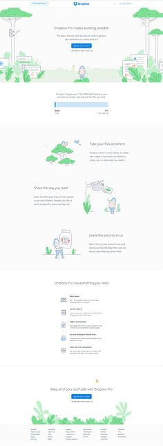 Dropbox Upgrade Page