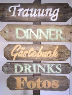 [einzelteil] VI - Hochzeits-Special #Schilder #Wegweiser #Palettenholz #holzdesign #design #berlin #einzelteil #einzelstück #einrichtung #einrichtungsidee #potd #dyi #vintage #einzigartig #individuell #Hochzeit #Basteln www.einzelteilberlin.blogspot.de