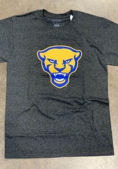 Champion Pitt Panthers Charcoal Panther Head Short Sleeve T Shirt - 14755129 Pitt Panthers, Pittsburgh Penguins, Charcoal, Champion, Sweatshirts, Sleeve, T Shirt, Manga, Supreme T Shirt