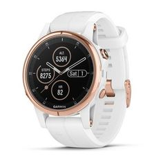Garmin fēnix Plus Smaller-Sized Multisport GPS Smartwatch Features Color TOPO Maps Heart Rate Monitoring Music and Garmin Pay White/Rose Gold Android Watch, Swiss Army Watches, Wearable Device, Gps Tracking, Pixel, Seiko Watches, Sport Watches, Nice Watches, Elegant Watches