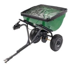 100Pound RustResistant TowBehind Broadcast Spreader Green >>> Learn more by visiting the image link.