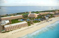 Oasis Cancun Hotel  Cancun, Mexico  Had the best time of our lives.  Wish we could go back.  Wanted to retire, right here!