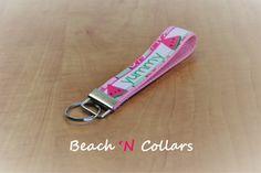 Yummy in my Tummy Watermelon Key Fob/Wristlet by Beachcollars on Etsy