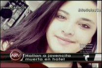 Encuentran Jovencita Muerta En Un Hotel Junto Al Cadáver De Un Desconocido #Video