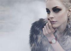 Model Jessica Stam, photographer Karl Lagerfeld for Fendi, F/W 2010