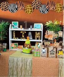 Resultado de imagen para aniversario infantil de safari
