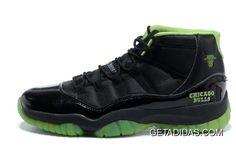 brand new 9cd1e b9ffb Air Jordan 11 Neon Green Chicago Bulls Custom 2013 Playoff TopDeals, Price    78.84 - Adidas Shoes,Adidas Nmd,Superstar,Originals