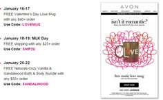 Avon Free Shipping with $25 Order January 2016 http://www.makeupmarketingonline.com/avon-free-shipping-with-25-order-january-2016/