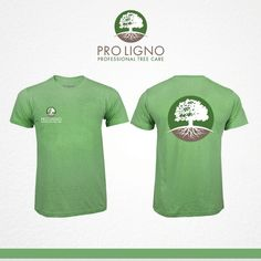 Make a logo that supports the company name pro ligno and showing that we are trees important by ☆LU☆