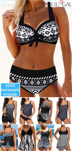 Shop Bikinis, Tankinis, One Piece Swimsuits, Swim Cover Ups Summer Wear, Summer Outfits, Cute Outfits, Halter Bikini, Outfit Strand, Vintage Swimsuits, Plus Size Swimsuits, Swimwear Fashion, Bikini Fashion