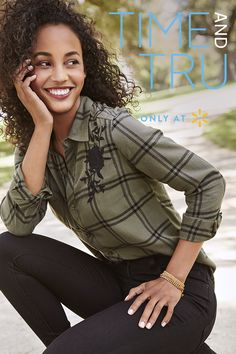 11dfd73ca1868 Looking for the perfect fall uniform  Say hello to Time and Tru s autumn  outfits.