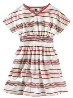 tea collection boardwalk vneck dress - 3T.  Wore a couple times, but couldn't find layering pieces for fall/winter so sold.