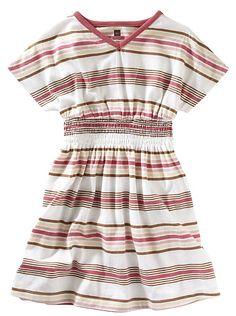 tea collection boardwalk vneck dress - 5t
