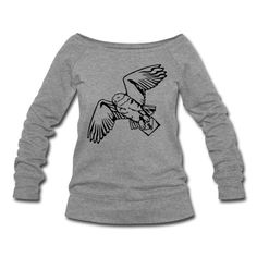 Hedwig, Harry Potter's snowy owl carrying a letter from Hogwarts. One color design.
