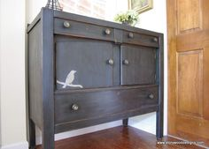 Sideboard Buffet in Graphite