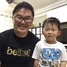 Wore my new #Singapore #StrengthsFinder #Belief Gold Emphasis Range Tee yesterday! Spending time with my kids is very important to me!