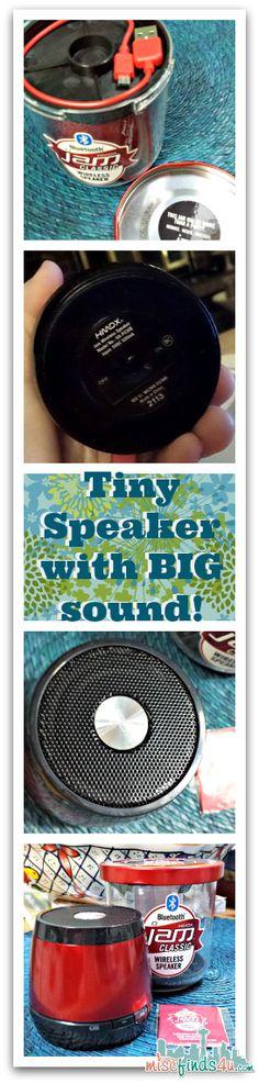 HMDX Jam Bluetooth Wireless Speaker - Summer Ready #ATTSeattle #Giveaway ad - MiscFinds4u