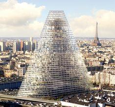 Infographie : La Qualité Environnementale dans la future Tour Triangle à Paris