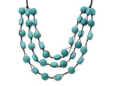 2013 Summer New Design Multi Layer Assorted Green Turquoise Necklace: http://www.aypearl.com/wholesale-turquoise-jewelry/wholesale-jewellery-X3344.html