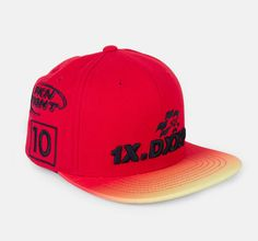f3101fae010 10 DEEP FINAL LAP SNAPBACK RED 51TD6206-RED