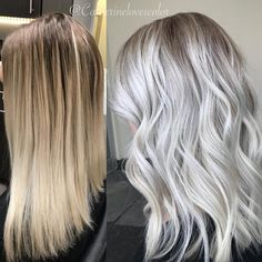 "272 Likes, 15 Comments - Michigan Balayage | BL❄️NDE (@catherinelovescolor) on Instagram: ""Bl❄️nde Addict......... . @oligopro blacklight cool tone and extra blonde 20 vol and moving up…"""
