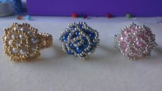 Hi friends, in today's video I will teach you how to do these beautifuls rings, I hope you like the video. MY YOUTUBE CHANNEL NATIBEADS: https://www.youtube....