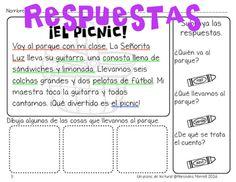 50% off (first 24 hours only)  ¡Un picnic de lectura! Grados 1-2