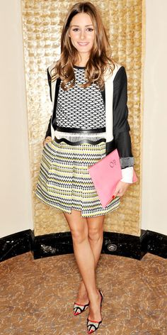 Olivia Palermo's 28 Best Looks Ever - Temperley London from #InStyle
