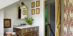 A global inspired bathroom.