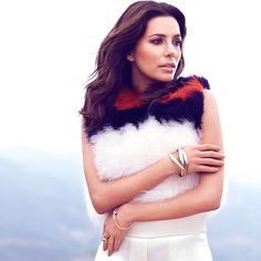 Eva Longoria in Sonia Rykiel for Vogue Mexico