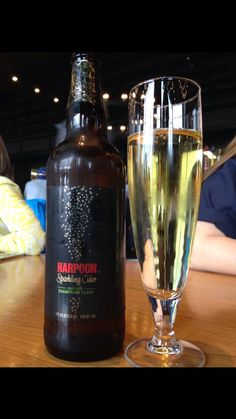 Harpoon Brewery does cider too!