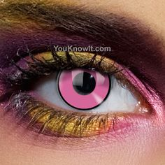 Colour Vision Pink Eye Contact Lenses (Pair) $27.88